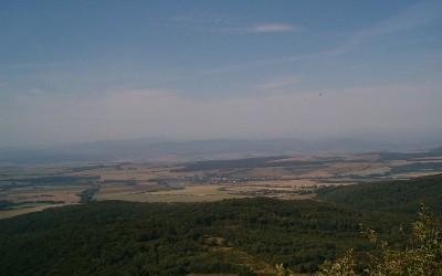 Landschaft in der Ost-Slowakei
