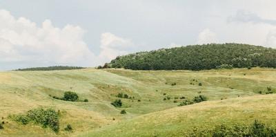 Landschaft im Nordosten Bulgariens