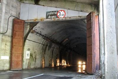 Tunnel auf dem Balea Pass