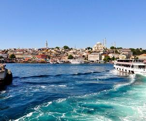 Istanbul am Bosporus