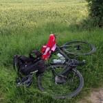 Pause auf dem Weg nach Klingenhal