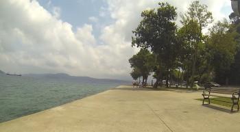 Und natürlich die Ankunft am Bosporus!