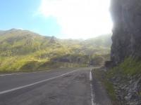 Anstieg zum Balea Pass.
