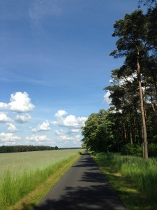 1. Etappe: Berlin (D) – Żagań (PL) 199 km