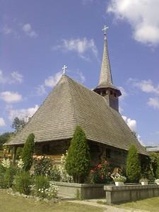 Holzkirche in Nordrumänien