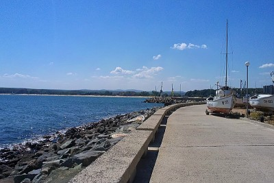 Küstenort südlich von Burgas.