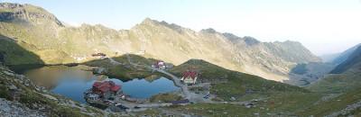 Balea Lac - Gletschersee auf dem Pass