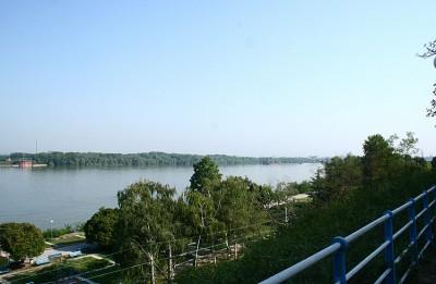 Donau bei Giurgiu