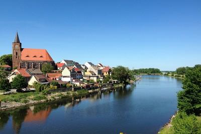 Fürstenberg bei Eisenhüttenstadt an der Oder