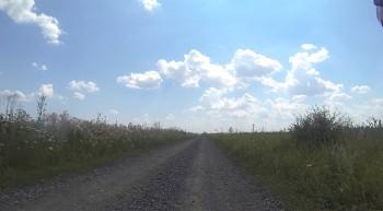 Schotter und Hitze in Süd-Rumänien.